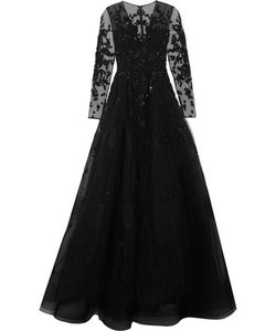 Zuhair Murad   Embellished Silk-Blend Tulle Gown