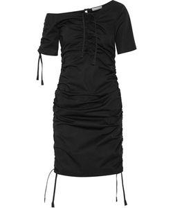 Barbara Casasola | Ruched Cotton-Gabardine Dress