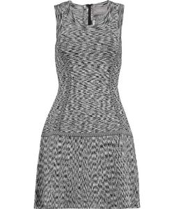 Lela Rose | Stretch Intarsia-Knit Dress
