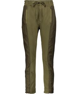 Haider Ackermann | Grosgrain-Trimmed Paneled Cotton And Satin-Twill Track Pants