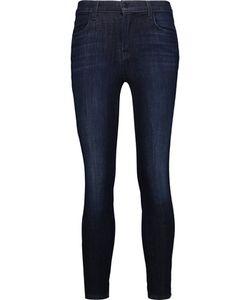 J Brand | Alana High-Rise Cropped Skinny Jeans