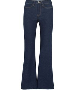M.i.h Jeans | Lou Cropped High-Rise Flared Jeans