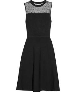 Jason Wu | Lace-Paneled Ponte And Stretch-Knit Dress