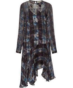 Preen by Thornton Bregazzi | Frarrow Printed Fil Coupé Silk-Blend Dress