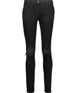 3X1 | W2 Distressed High-Rise Skinny Jeans