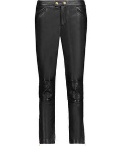 Muubaa | Parnell Leather Slim-Leg Pants