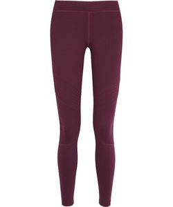 Monreal London | Biker Ruched Stretch-Jersey Leggings