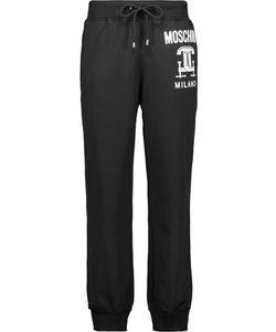 Moschino | Printed Ponte Track Pants