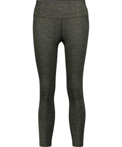 Koral | Mystic Cropped Stretch-Jersey Leggings