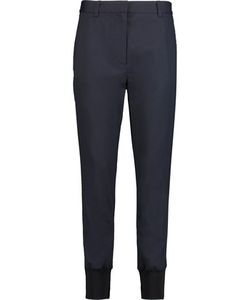 3.1 Phillip Lim | Paneled Wool-Blend Twill Tapered Pants