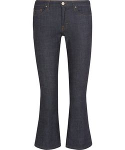 Victoria, Victoria Beckham | Cropped Mid-Rise Bootcut Jeans