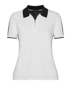 Rag & Bone | Alice Two-Tone Knitted Polo Shirt