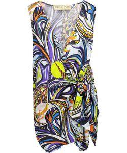 Emilio Pucci | Tie-Front Printed Cotton Playsuit