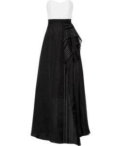 J. Mendel | J Mendel Strapless Silk Gown