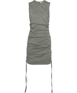 Barbara Casasola | Ruched Cotton-Gabardine Mini Dress