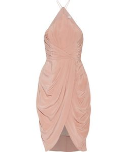 Zimmermann | Wrap-Effect Draped Silk Crepe De Chine Halterneck Dress
