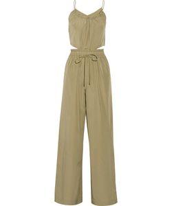 3.1 Phillip Lim | Silk And Cotton-Blend Jumpsuit