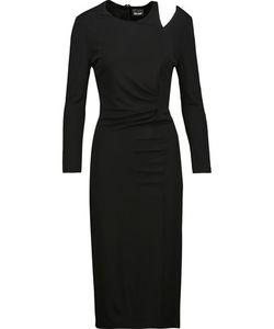 Just Cavalli | Gathe Cutout Cady Dress