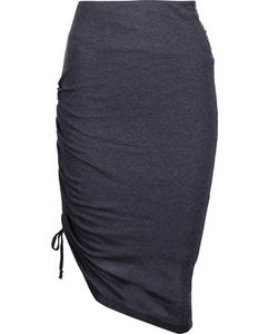 Pierre Balmain | Ruched Stretch-Jersey Skirt