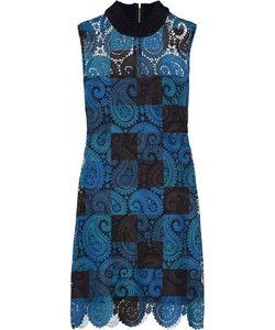 Sea | Printed Guipure Lace Mini Dress