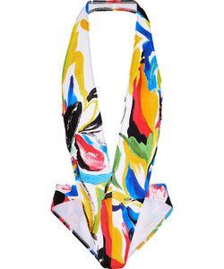 Norma Kamali | Andy Cutout Printed Swimsuit
