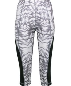 Purity Active | Cropped Printed Stretch Leggings