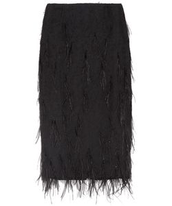 Jason Wu | Feather-Embellished Voile Skirt