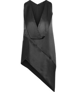Narciso Rodriguez | Asymmetric Silk-Satin Top
