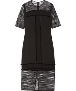 By Malene Birger | Katnesa Fringed Crepe De Chine And Crocheted