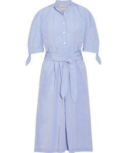 Sea | Cotton-Poplin Midi Dress