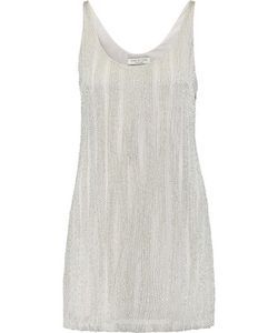 Halston Heritage | Embellished Crepe Mini Dress