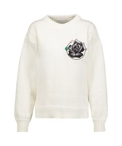 J.W.Anderson | Embroidered Cotton Sweater
