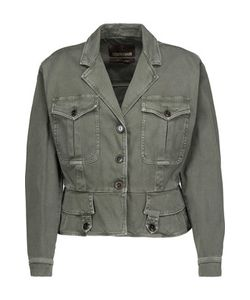 Roberto Cavalli | Lace-Up Denim Jacket