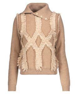 Jonathan Simkhai | Embellished Fringed Wool Turtleneck Sweater