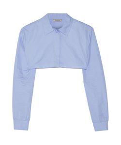 Nina Ricci | Cropped Cotton-Poplin Shirt