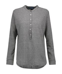 M.i.h Jeans | Chekkie Striped Cotton And Linen-Blend Top