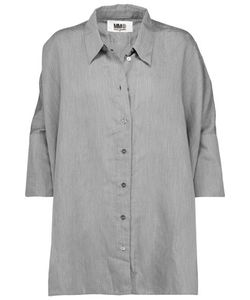 Mm6 Maison Margiela | Oversized Poplin Shirt