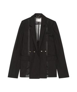 Jason Wu | Silk-Organza Paneled Wool Blazer