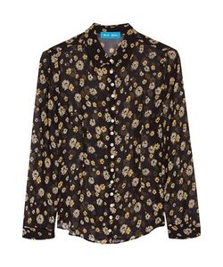 M.i.h Jeans | Printed Silk-Georgette Shirt