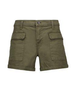 J Brand   Kai Cotton-Blend Shorts