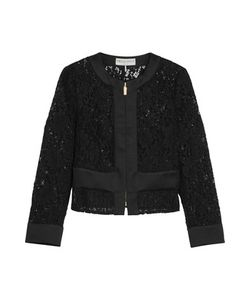 Emilio Pucci | Cropped Broderie Anglaise Cotton-Blend Jacket