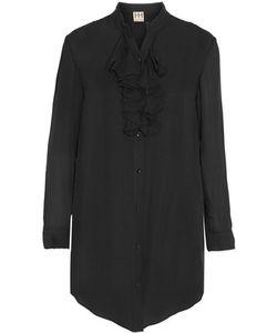Haute Hippie   Ruffled Silk Crepe De Chine Shirt