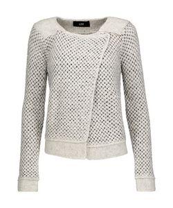 Line | Stephanie Asymmetric Bouclé Jacket