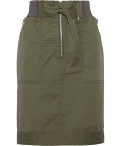 3.1 Phillip Lim | Cotton-Blend Twill Skirt