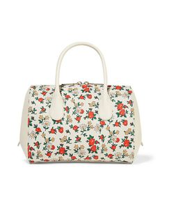 Nina Ricci | Extra Smallprint Canvas And Leather Tote