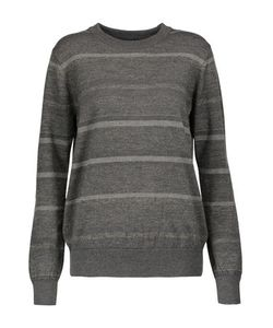 M.i.h Jeans | Falls Striped Glittered Merino Wool-Blend Sweater