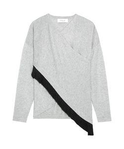10 Crosby Derek Lam | 10 Crosby By Derek Lam Fringed Wrap-Effect Silk And Cashmere-Blend