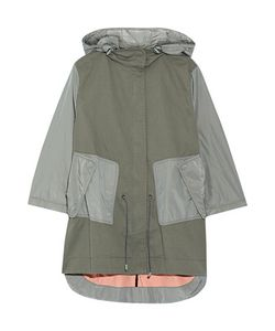 Tim Coppens | Layered Shell-Paneled Stretch-Cotton Parka