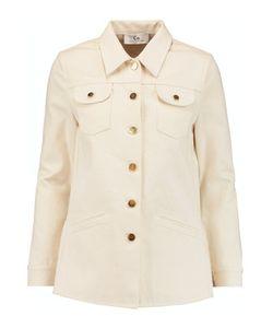 Co | Ruffled Tton-Twill Jacket