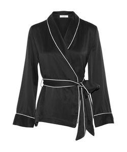 Equipment | Odette Washed-Silk Wrap Shirt